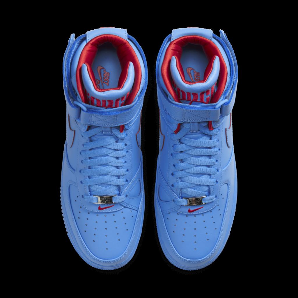 Just Don Legt Zijn Focus Op De Nike Air Force 1 High Sneakerjagers