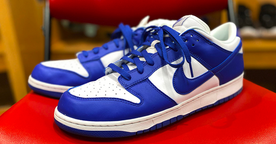 Nike Dunk Low 'Kentucky'
