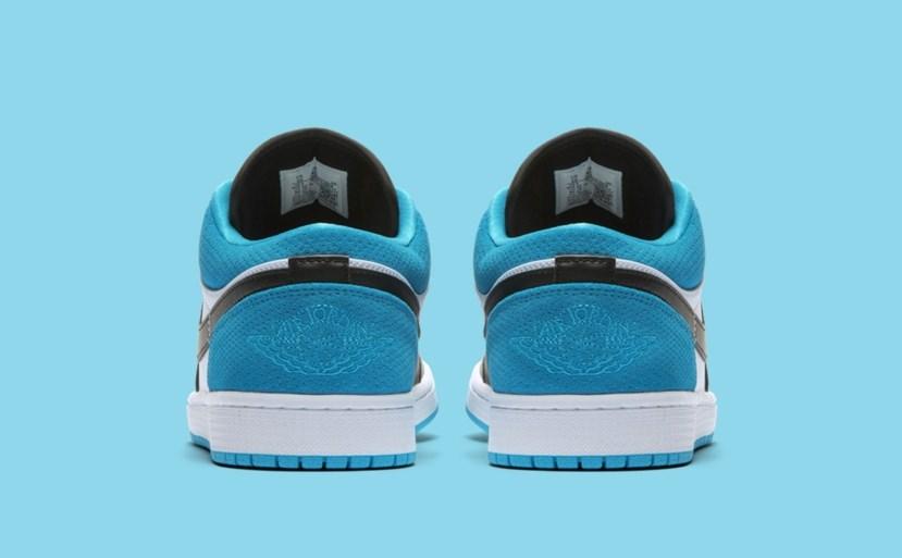 Air Jordan 1 Low 'Blue/White/Black'