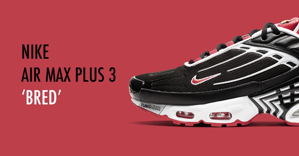 Nike Air Max Plus 3 Black Red CJ0601 001 |