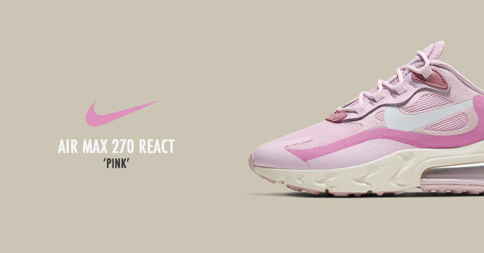 Nike air max 270 react dames sneakers witroze
