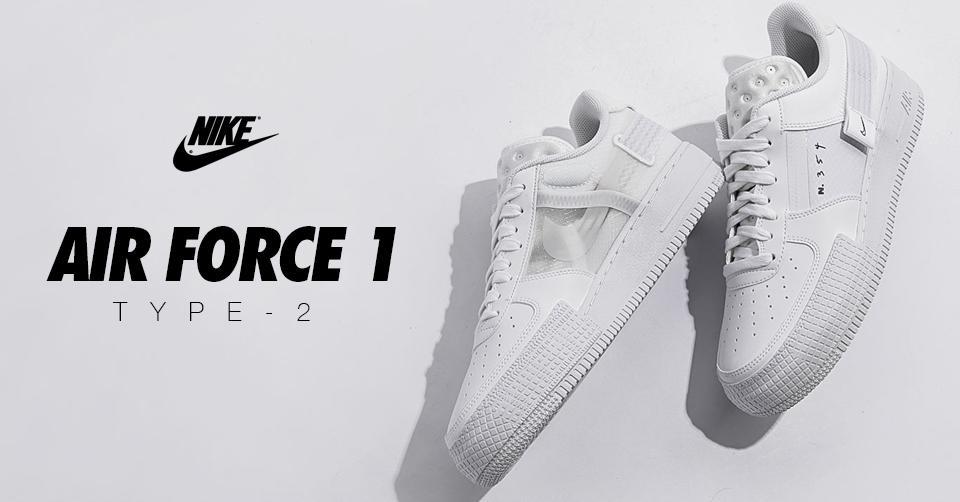 De Air Force 1 Type 2 is verkrijgbaar bij Nike | Sneakerjagers