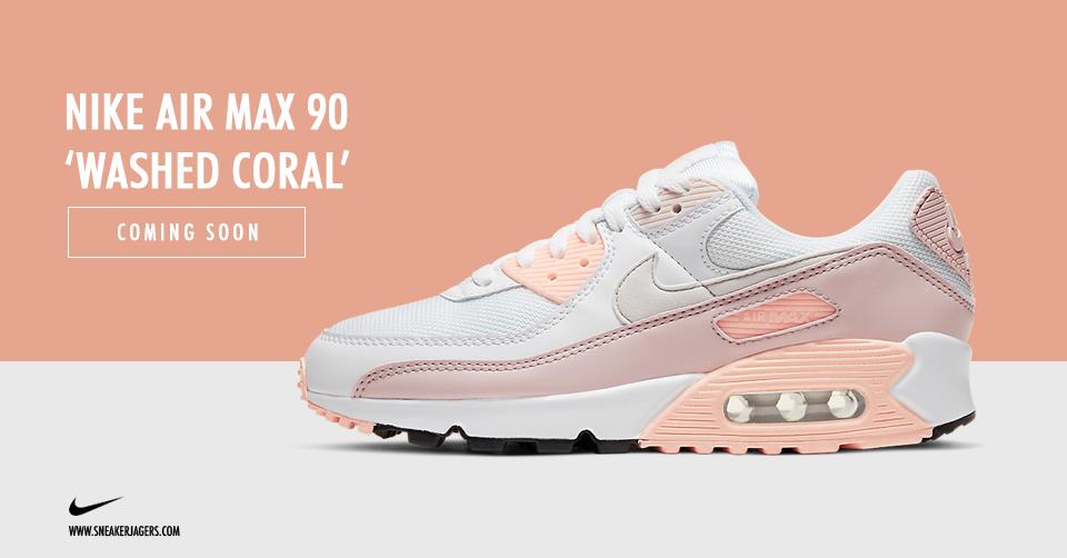 Nike dropt hele lieve pastel kleuren op de Air Max 90