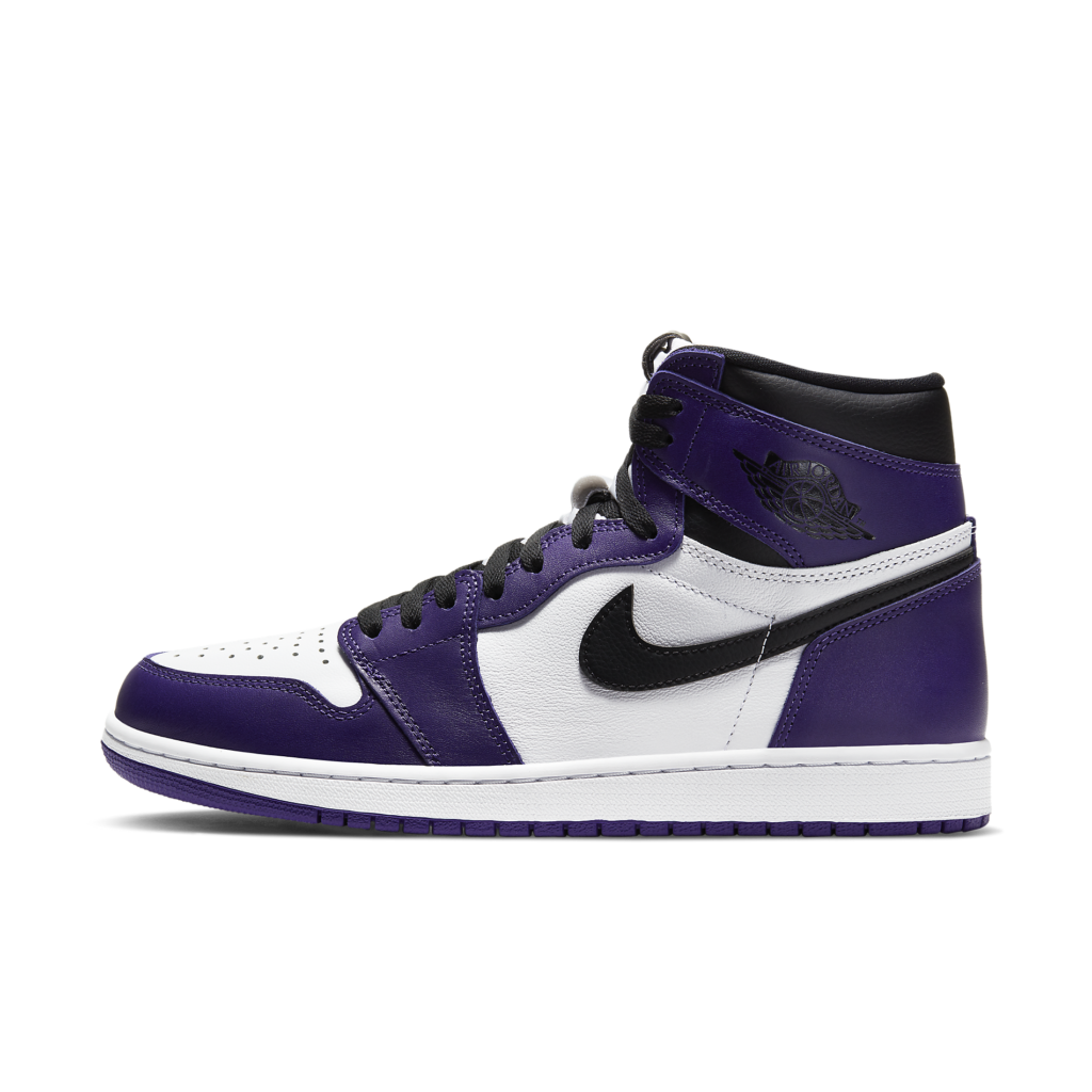 Air Jordan 1 Retro High OG 'Court Purple'