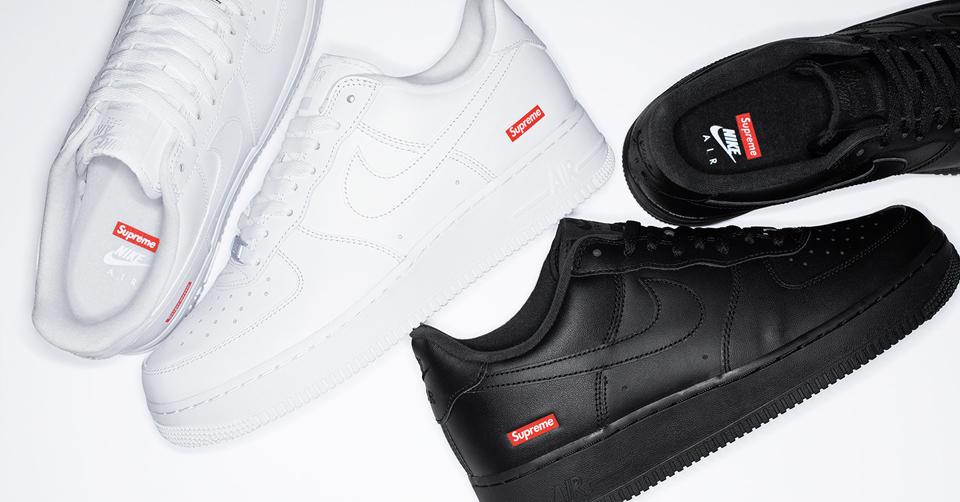 Supreme x Nike Air Force 1 dropt deze week al | Sneakerjagers