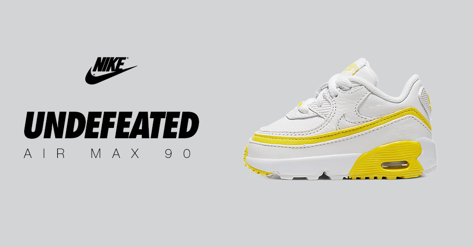 Undefeated x Nike AIR max 90 Yellow & White baby Archieven