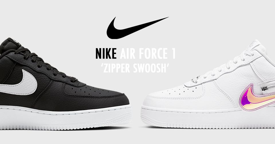 De Nike Air Force 1 krijgt een 'Iridescent' verwijderbare