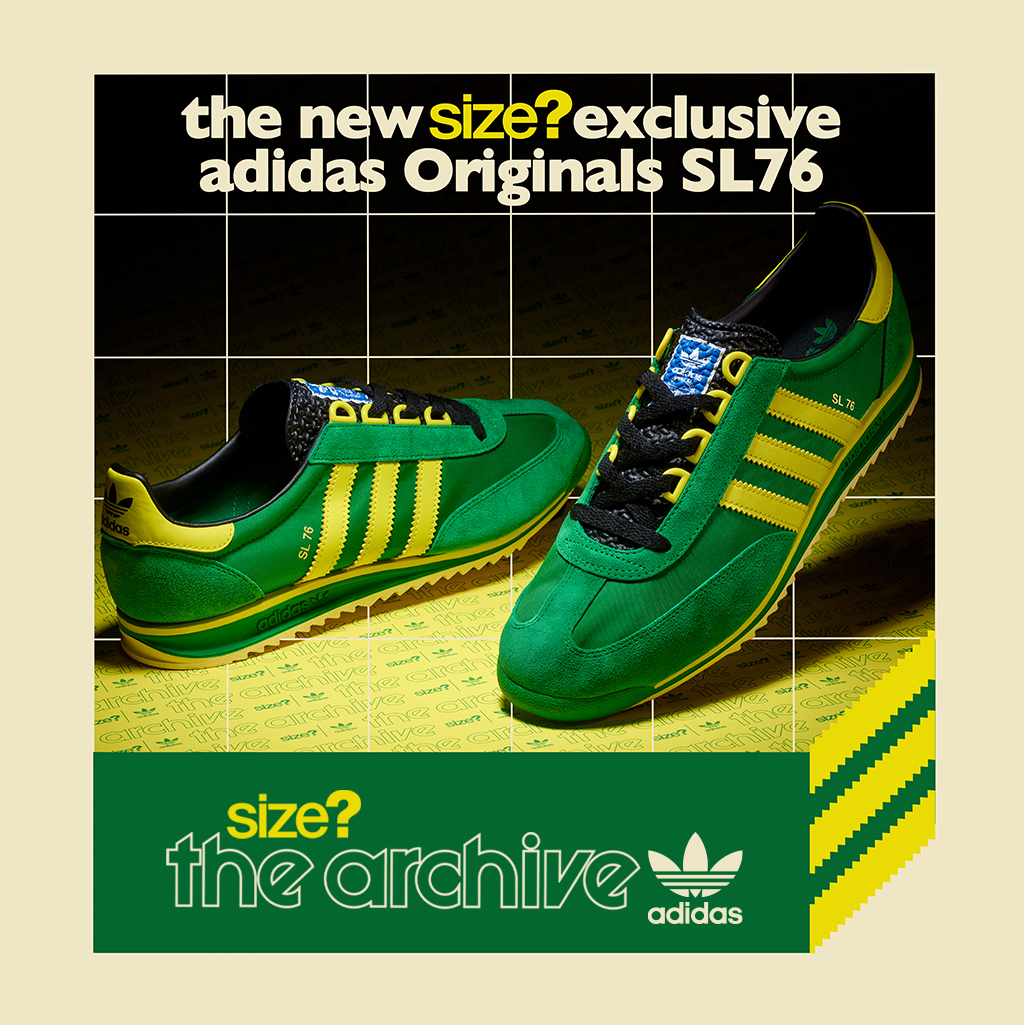 Size? x adidas Originals SL 76