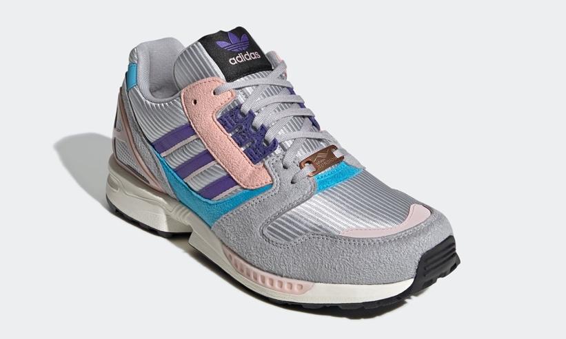 adidas ZX 8000 Grey Two/Purple