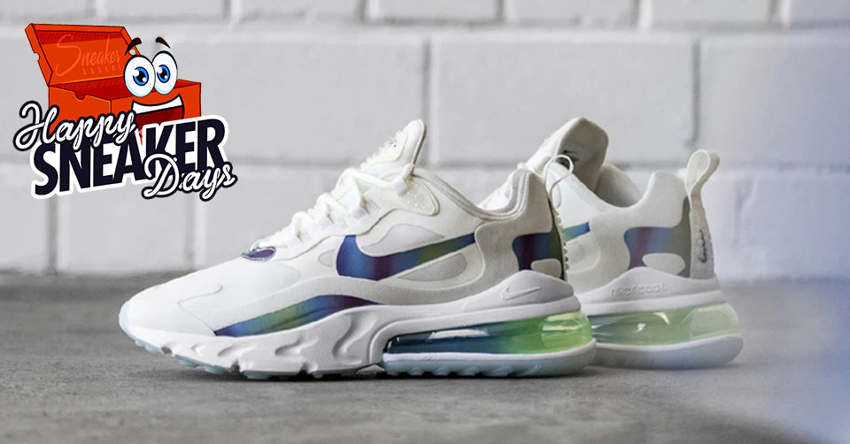 €40, korting op deze Nike Air Max 270 React 'White