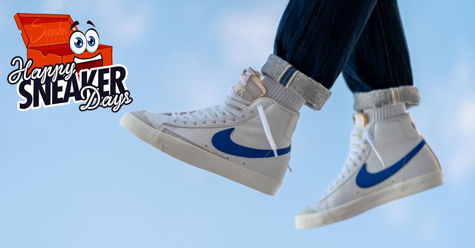 Pak de iconische Nike Blazer Mid '77 Vintage voor een