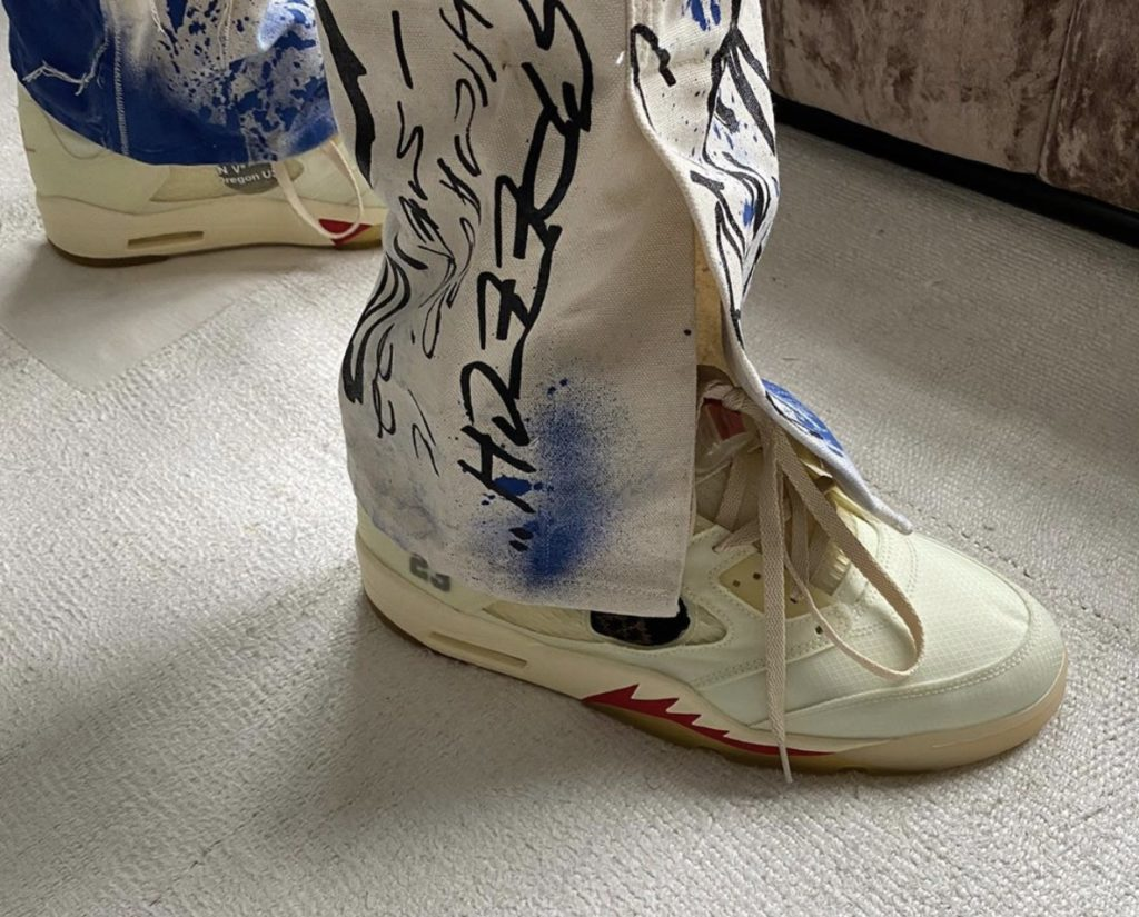 Off-White Air Jordan 5 'Sail'