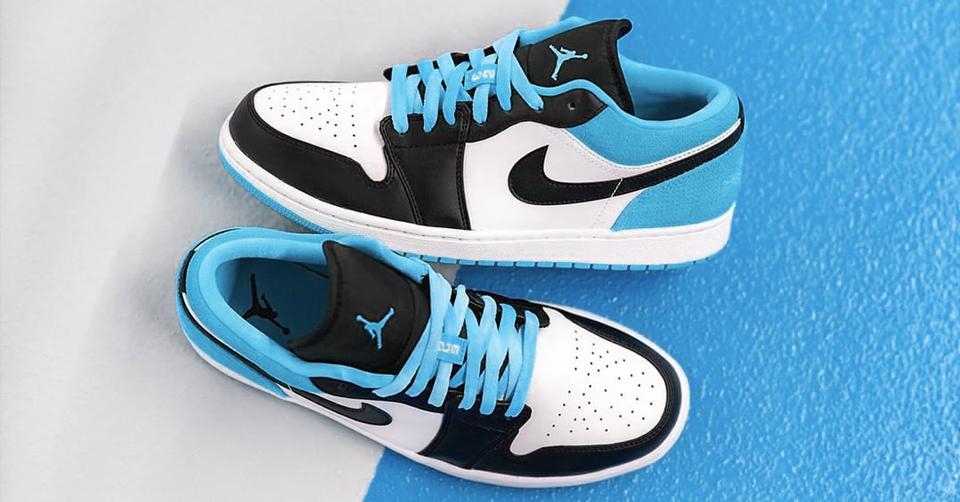 De Air Jordan 1 Low Laser Blue is nu verkrijgbaar bij Foot ...