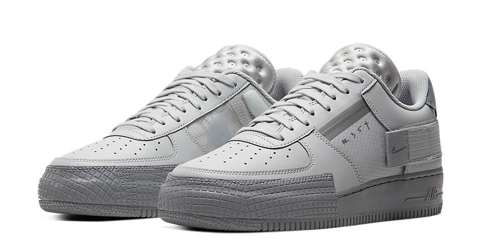 Nike Air Force 1 Type 2 'Grey Fog'