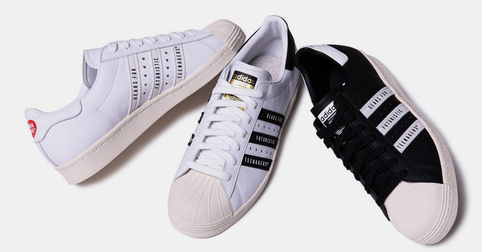 Adidas Superstar 80s Metal Toe Sneakers ($150) liked on