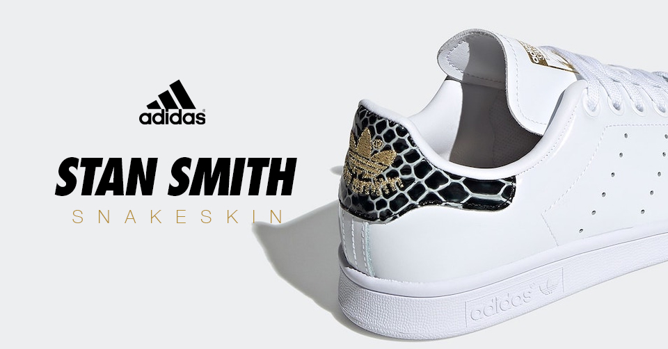 adidas stan smith dames slangenprint