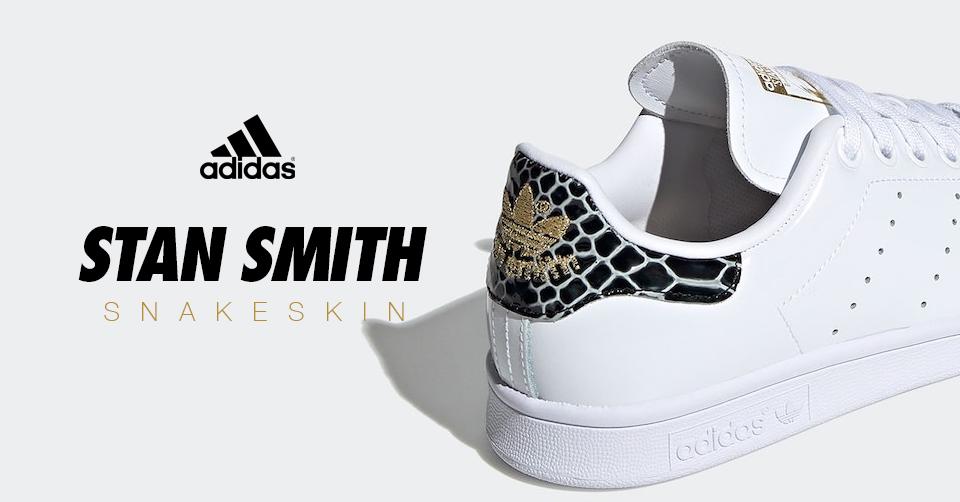 adidas stan smith dames slangenprint