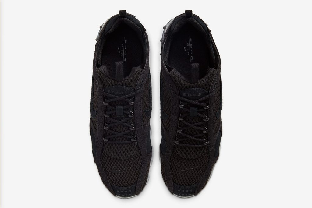 Stüssy x Nike Air Zoom Spiridon Cage 2 'Black'
