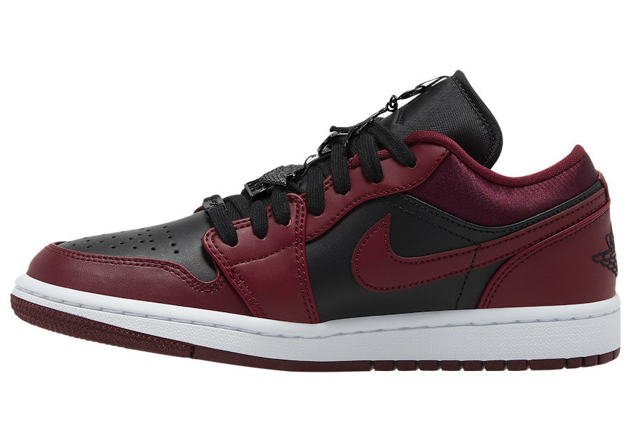 Air Jordan 1 Low 'Black / Red'