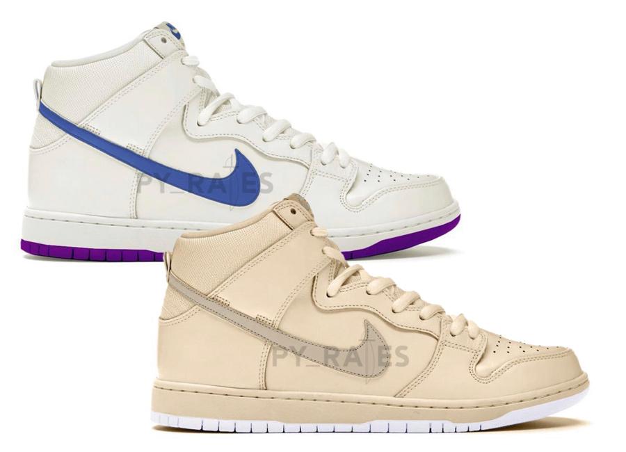 Nike Dunk High x Notre