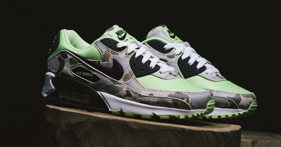 Release Reminder: Nike Air Max 90 SP 'Ghost Green' Duck Camo