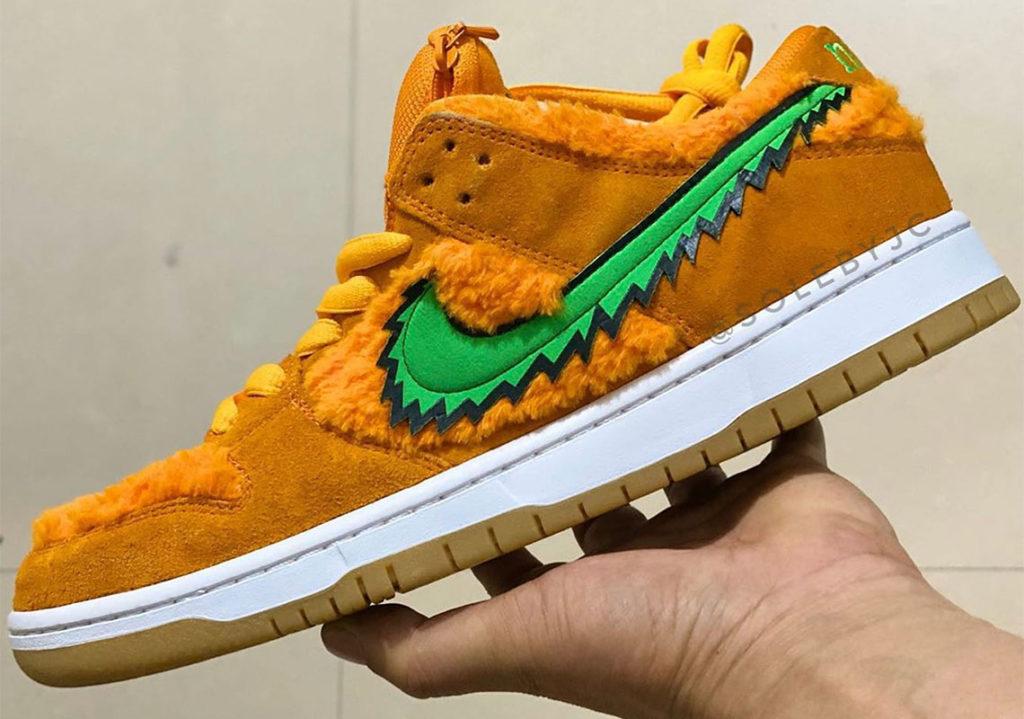 Grateful Dead x Nike SB Dunk Low 'Orange Bear'
