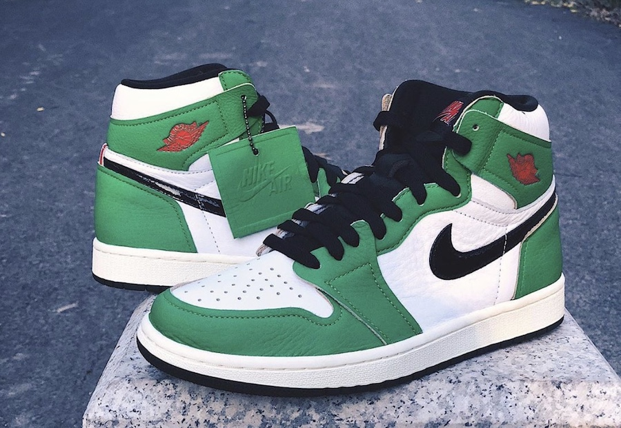 Air Jordan 1 WMNS 'Lucky Green'