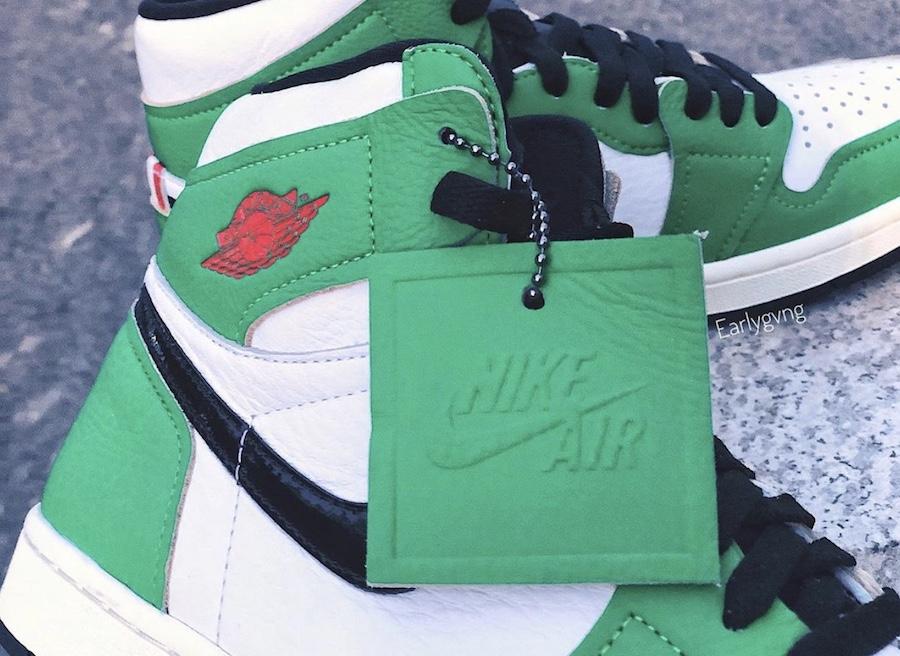 Air Jordan 1 WMNS 'Lucky Green'