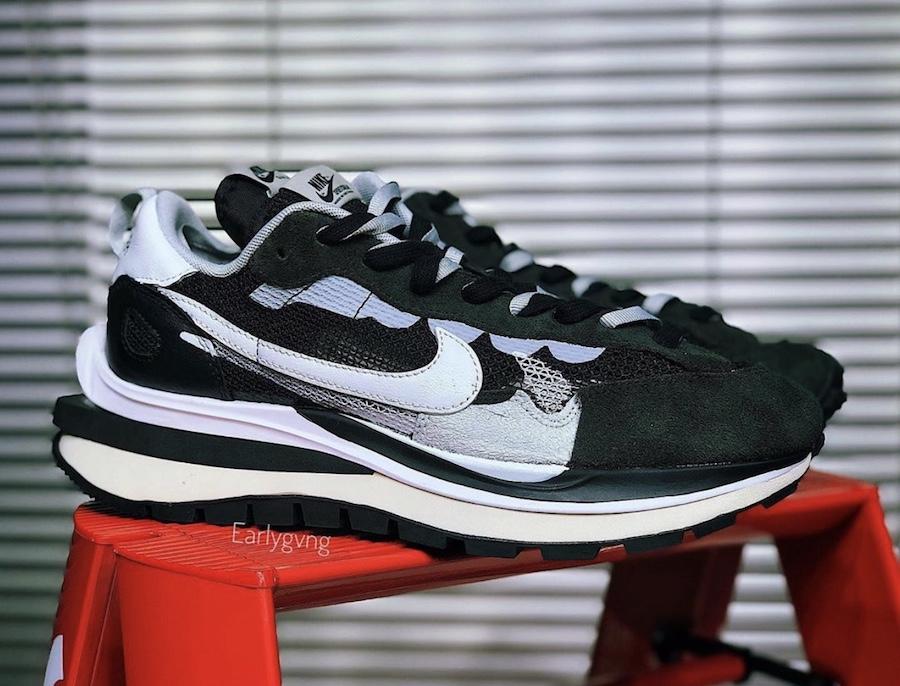 sacai x Nike VaporWaffle 'Black/White'