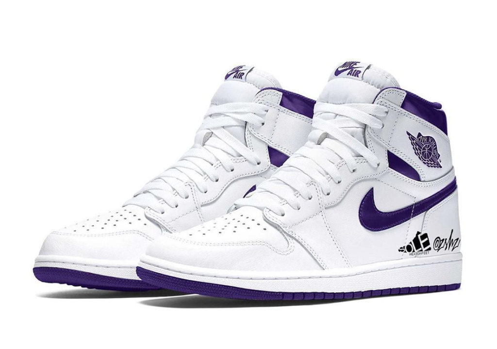 Air Jordan 1 High 'Court Purple'