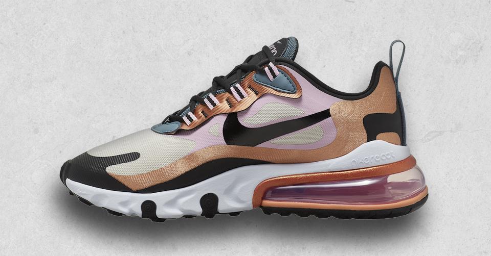 De Nike Air Max 270 React komt in het brons | Sneakerjagers