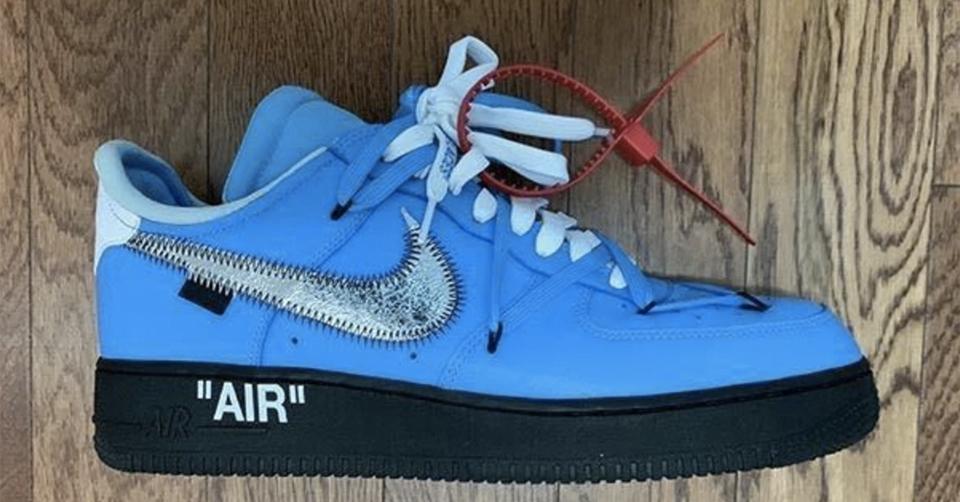Een nieuwe Off White x Nike Air Force 1 is wellicht