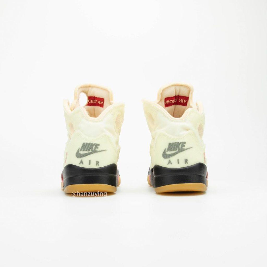 Off-White x Air Jordan 5 'Sail'
