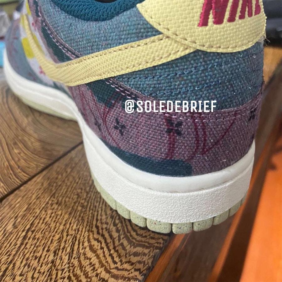 Nike SB Dunk Low 'Lemon Wash'
