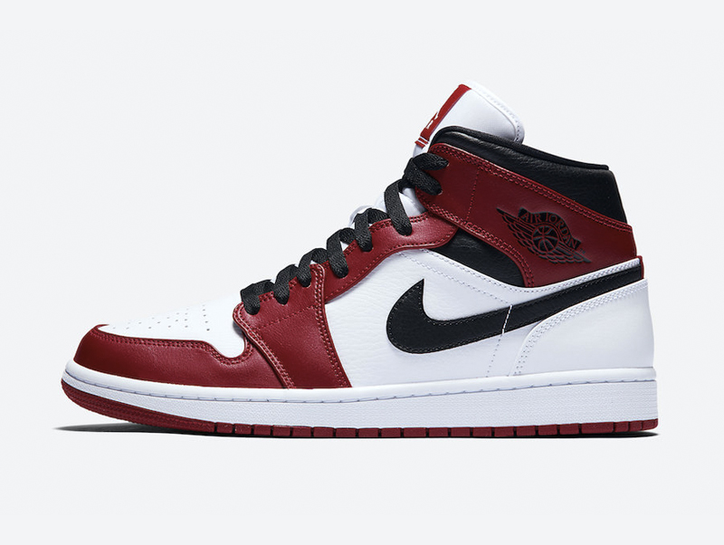 Jordan 1 Mid Chicago