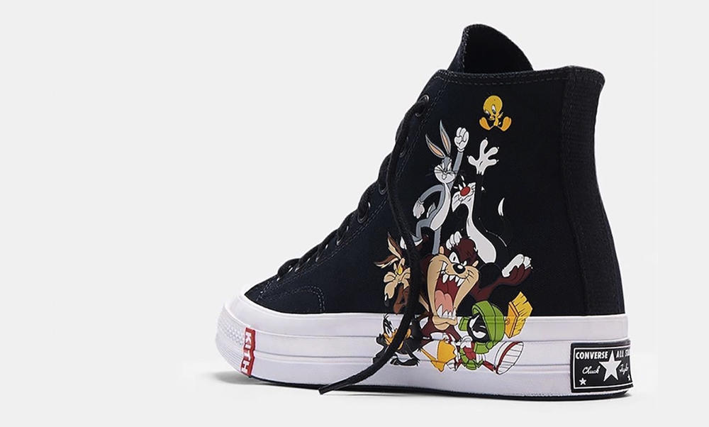 KITH x Looney Tunes x Converse Chuck 70 Hi
