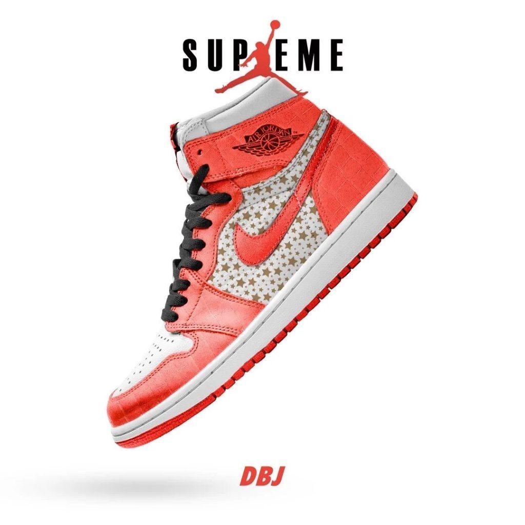 Supreme Air Jordan 1