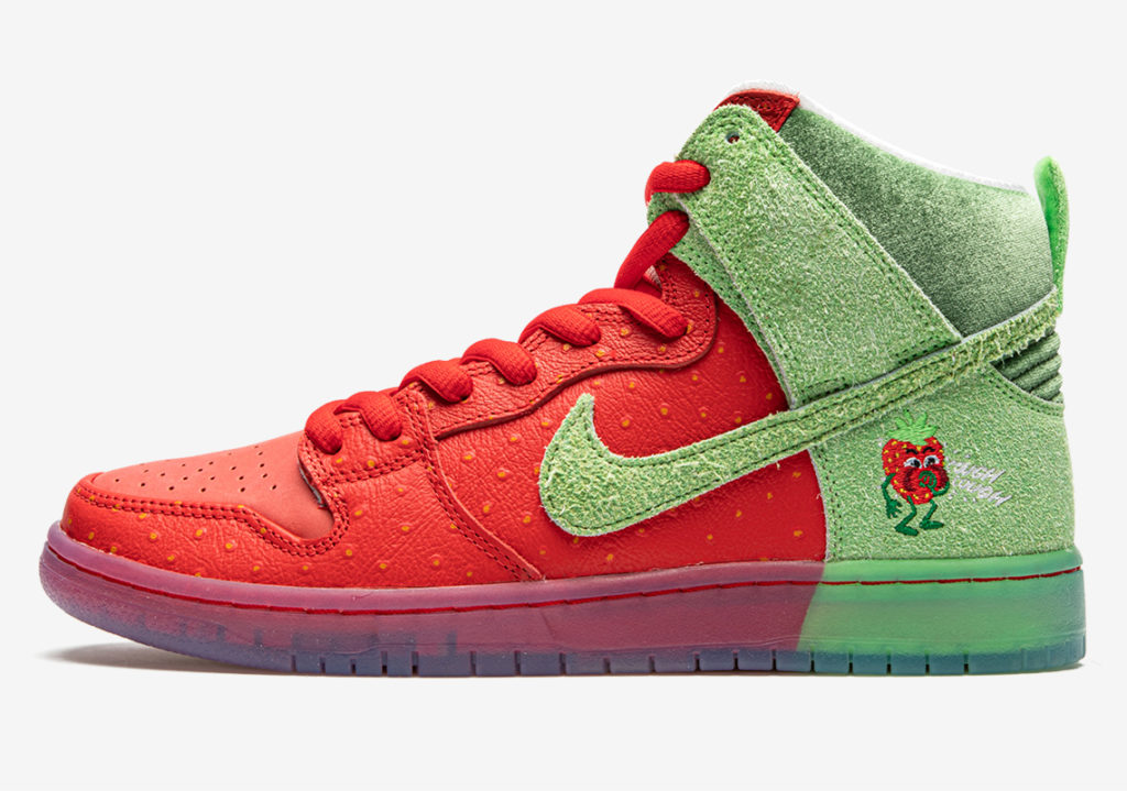 Nike SB Dunk High 'Strawberry Cough'