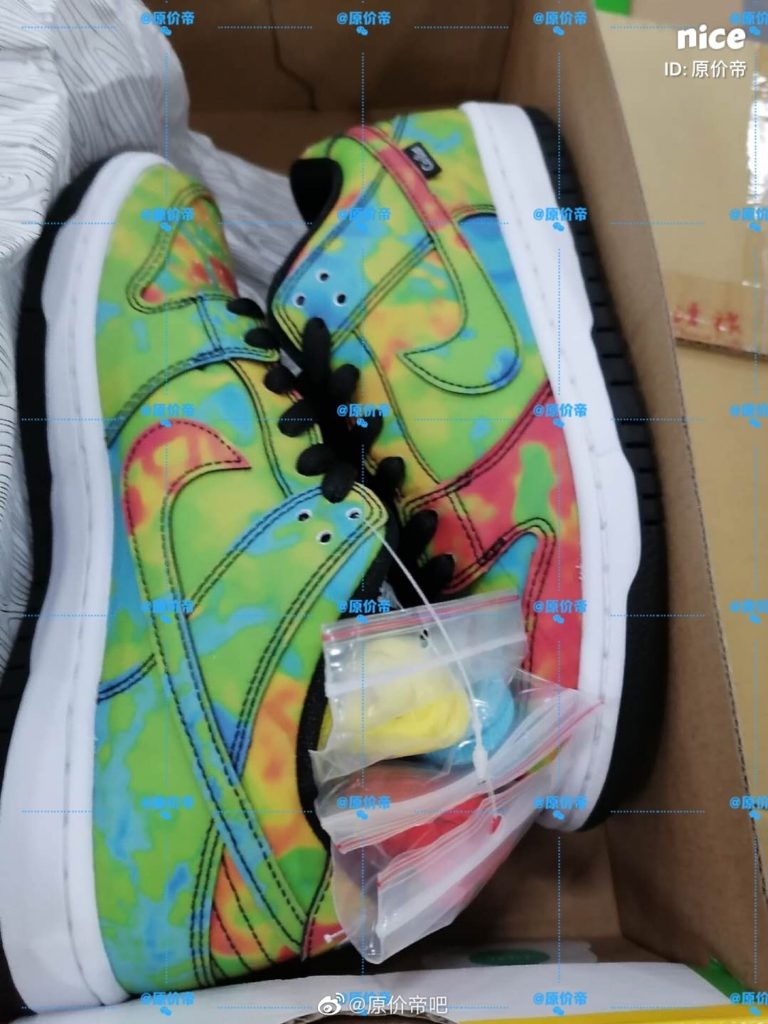 Nike SB Dunk Low 'Thermography'