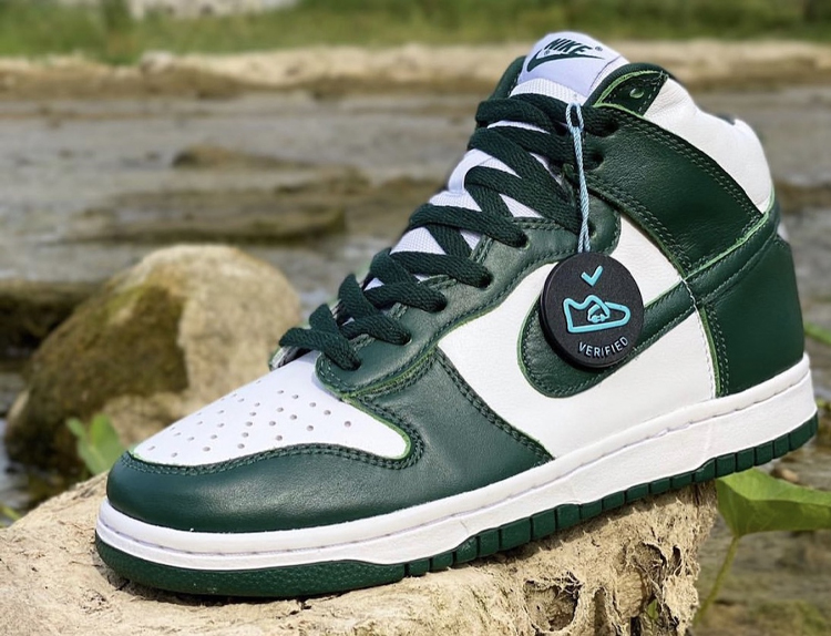 Dunk High Pro Green