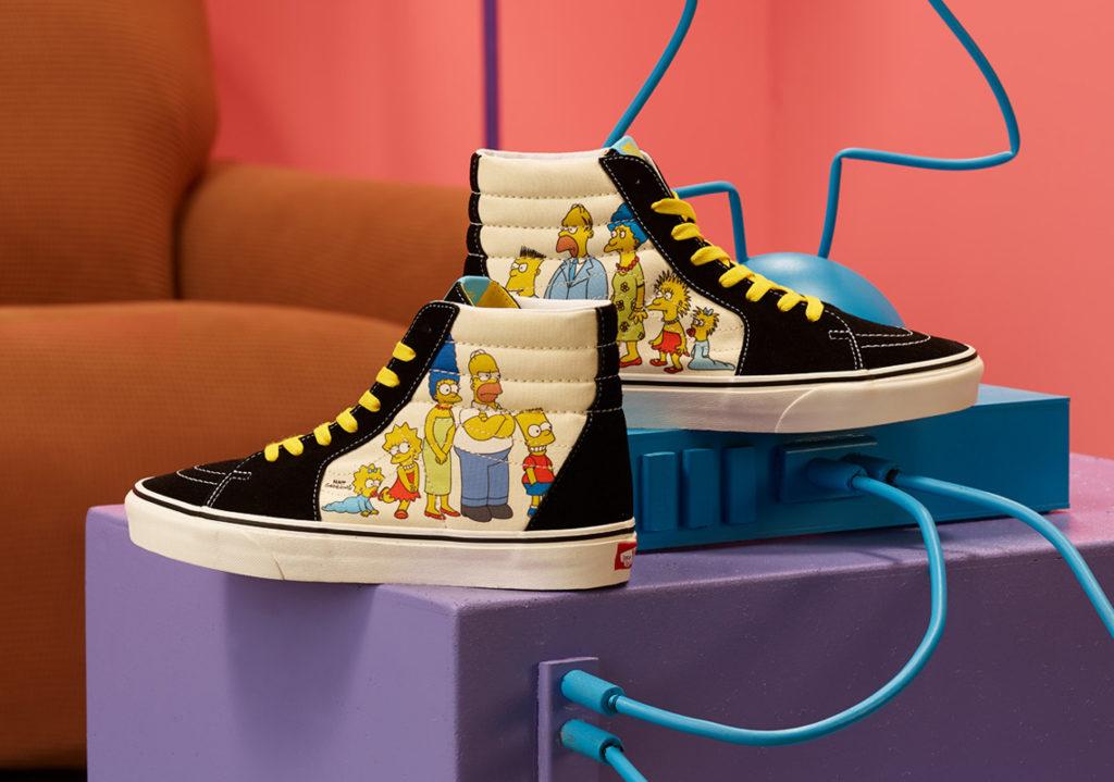 The Simpsons x Vans