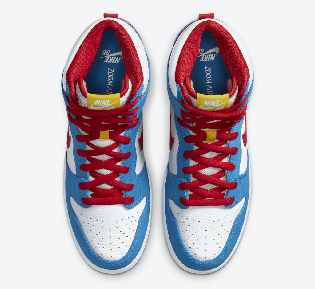 Nike SB Dunk High 'Doraemon'