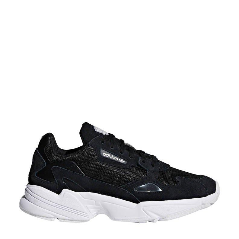 adidas Falcon zwarte sneaker
