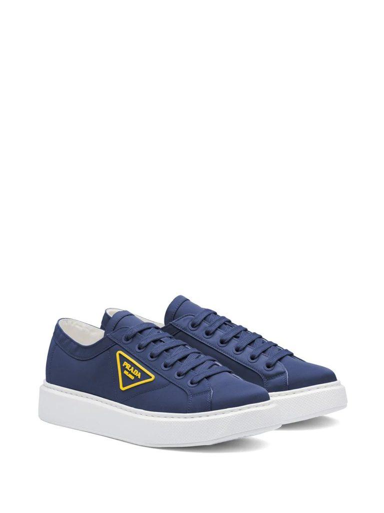 Logopatch prada sneaker