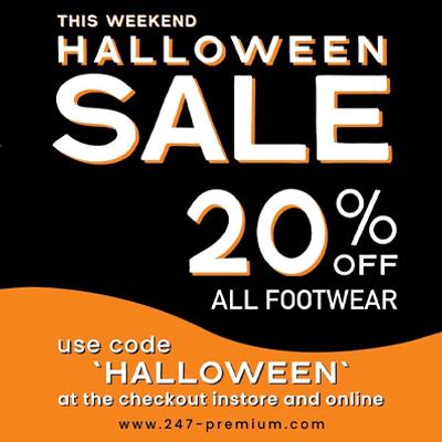 Halloween Sneaker Sale