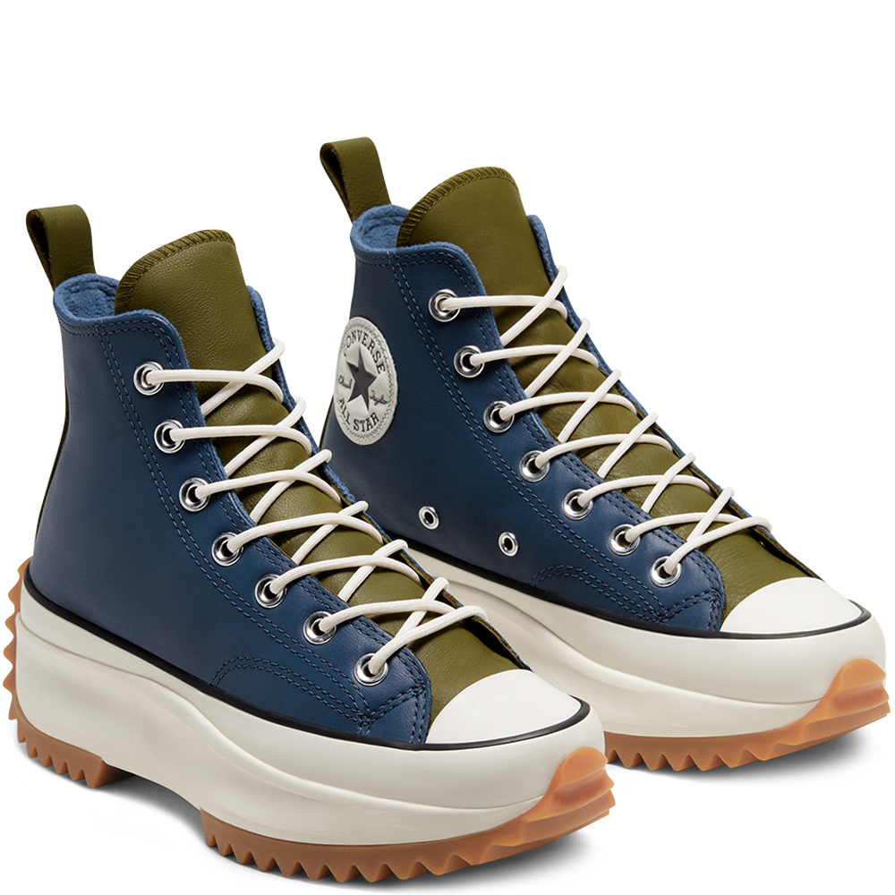 Converse hefstcollectie Run Star Hike OX 'Blue/Olive'
