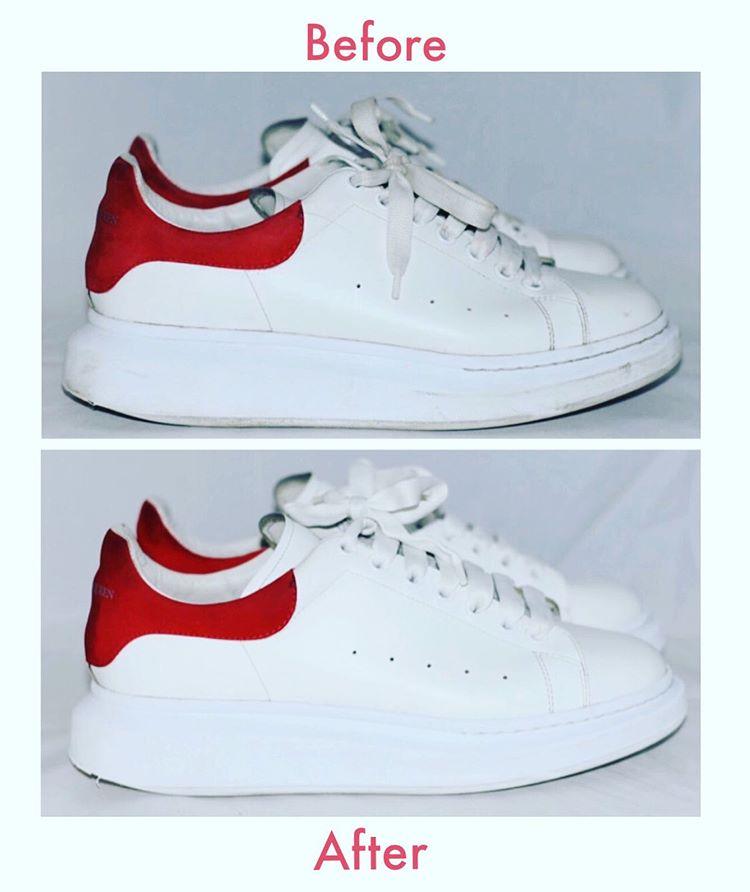 sneakers schoon krijgen