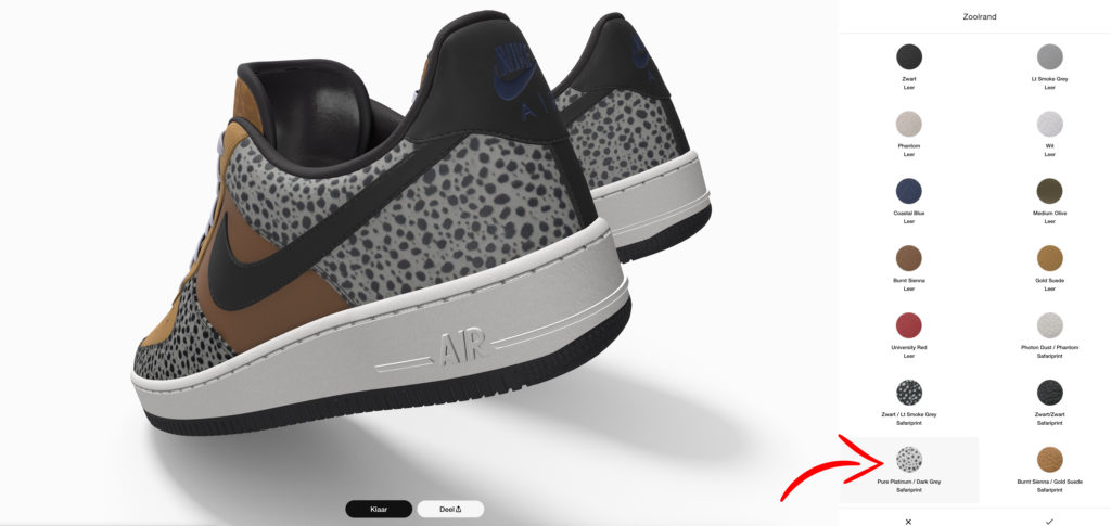 Air Force 1 'Safari'