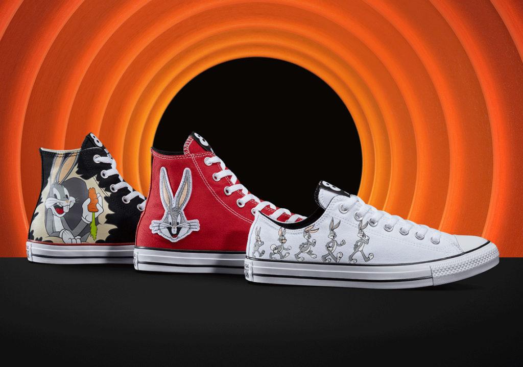 Bugs Bunny X Converse 80th anniversary