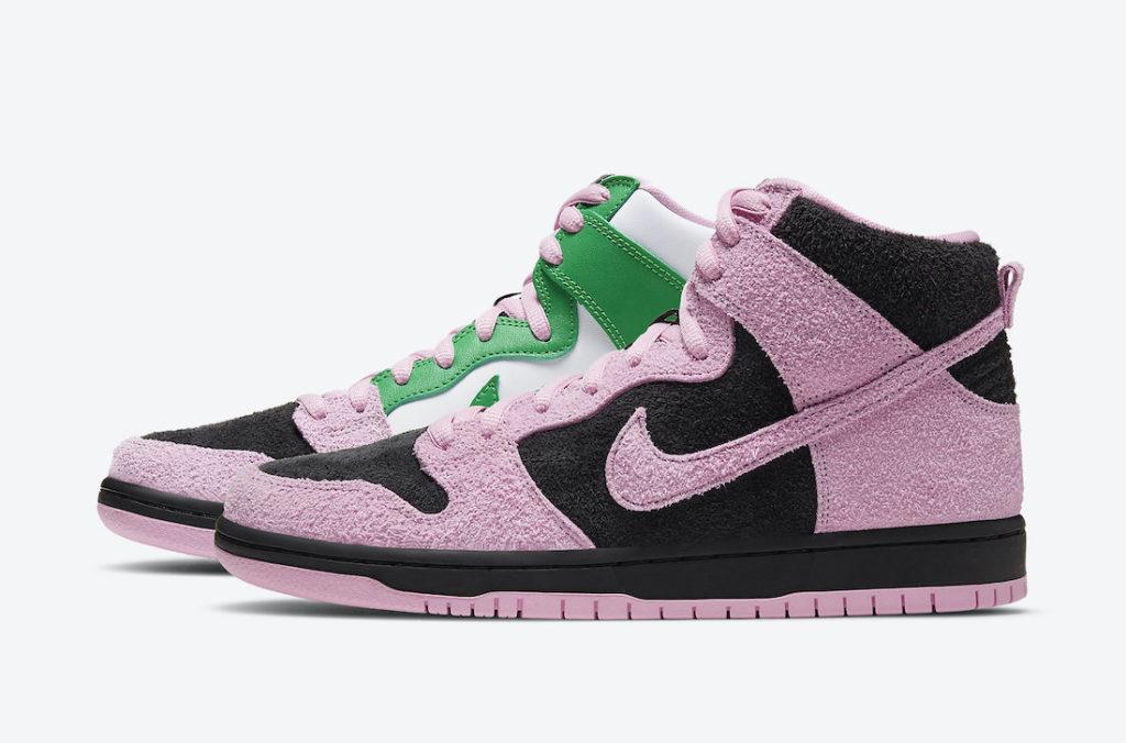Nike SB Dunk High 'Invert Celtics'